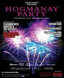 Merchant Square Hogmanay Party 2015