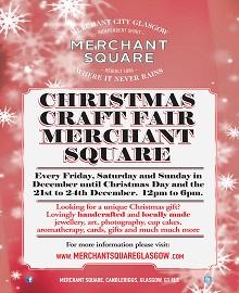 Merchant Square Christmas Craft Fair!