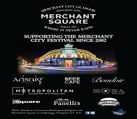 Thanks for coming to Merchant City Festival 2017